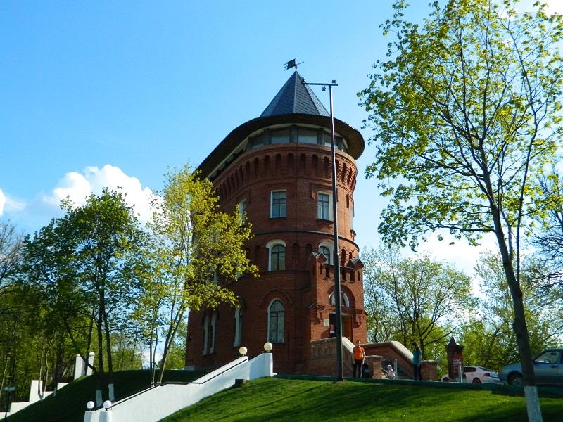 Водонапорная башня во владимире адрес